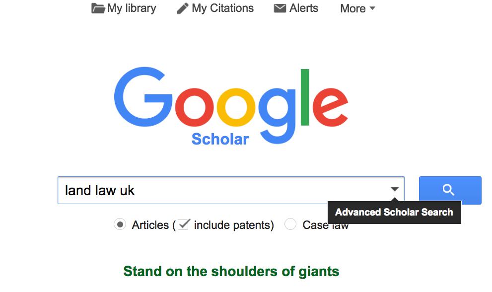 Google Scholar – 5 days of digital literacy
